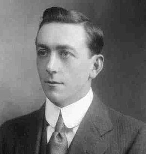 Arthur Holmes in 1912