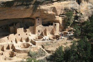Cliff Palace of Mesa Verde, in Arizona, United States,