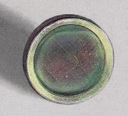 A thin film of polonium on a stainless-steel d...