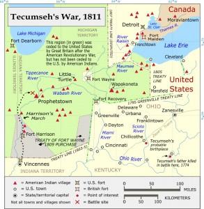 Tecumseh's War (Source:Wikipedia)
