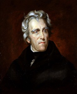 Andrew Jackson on Wikipedia